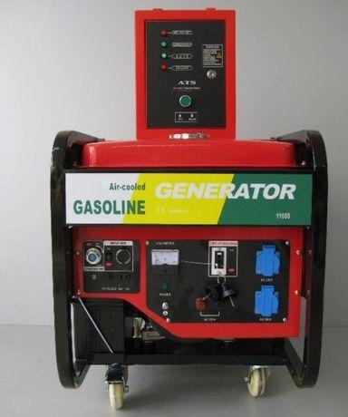Генератор за ток 11 kw с АТС табло пълна автоматика
