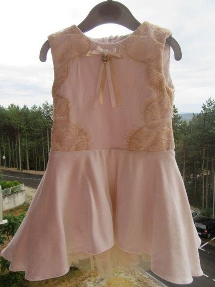Детска рокля с тюл BUTTERSCOTCH / шаферка