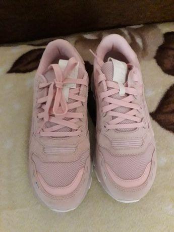 Puma, Pantofi sport de femei cu insertii de piele intoarsa RS 2.0 Soft