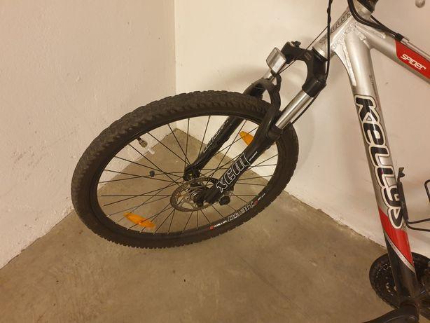 """Bicicleta MTB Kellys Spider, roti 26, schimbatoare shimano, aliaj 19"""""""