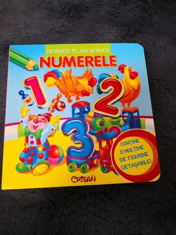 Carte - Numerele-cu figurine detasabile