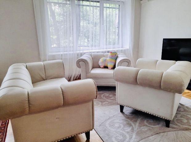 Срочно!Шикарная итальянская мебель. Диван с двумя креслами.  250000 тг