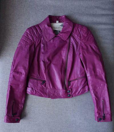 Burberry  brit кожаная куртка
