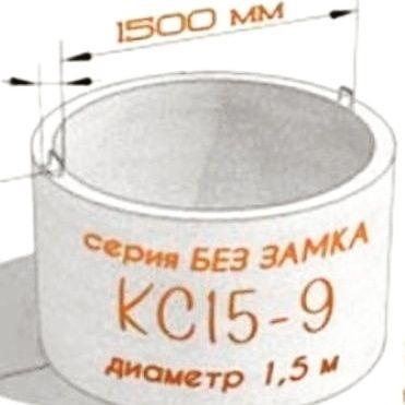 Продам ЖБИ канализационные  кольца для септика и водопровода
