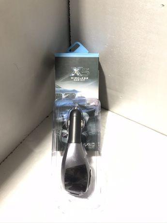 Автомобильный FM модулятор с дисплеем X5 Wireless Car Kit