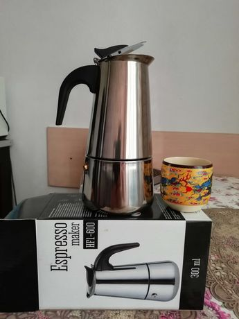 кофеварка новая гейзерная