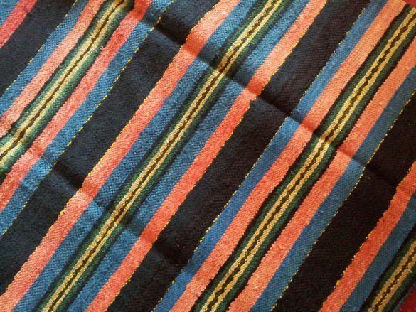 Нова черга-памук-ръчно тъкана, добре съхранявана
