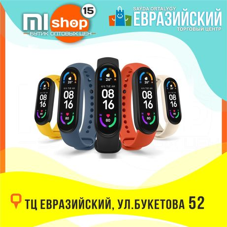 MiSHOP15 Браслет Mi Band 6 (ТЦ Евразийский, 1 этаж, ул. Букетова 52)