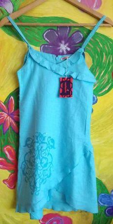 Детска рокличка от лен