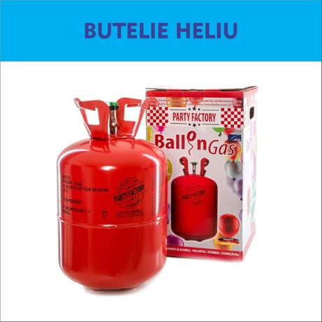 Heliu la Butelie *13,4L, heliu ptr - 45-50 Baloane