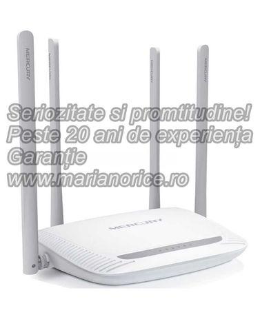 Router Wireless 300MB - include montaj, deplasare si configurare
