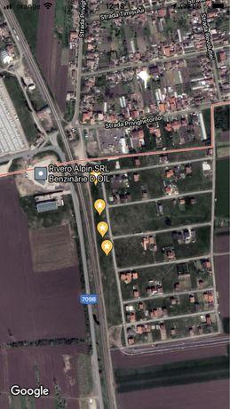 Vand teren intravilan Curtici in Cartierul Nou