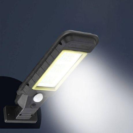 Lampa solara tip stradal 60 LED SMD, senzor de miscare, telecomanda