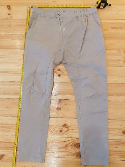 Сив панталон тип потур