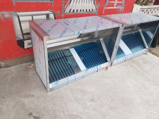Hota inox profesionala cubica tip box 1200x800x500mm/Inox Voluntari