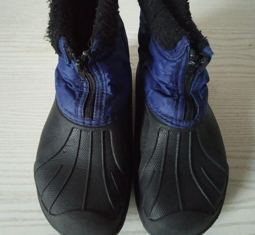 Ботинки - галоши литые, утеплённые, размер 36