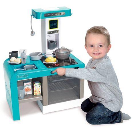 Детская электронная кухня Tefal Cheftronic, кипение, свет, звук, Smoby
