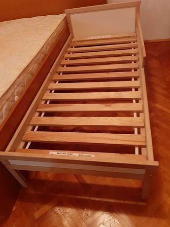 Pat copil Ikea 160/70 cm, inclusiv saltea