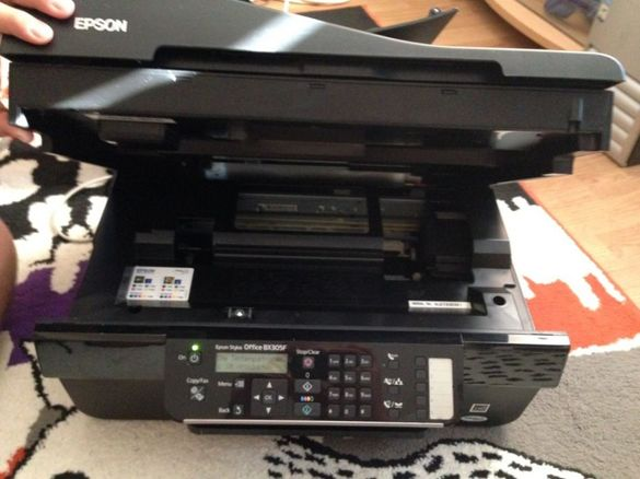 Epson stylus office bx305f цветен принтер/факс