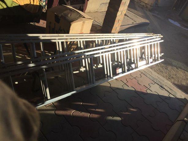 Продается выдвижная,3-х секционная лестница-стремянка, 6,9м 3*10
