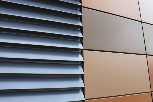 Металл алюминиевые фасадные кассеты панели решетки Ламели Отливы Откос