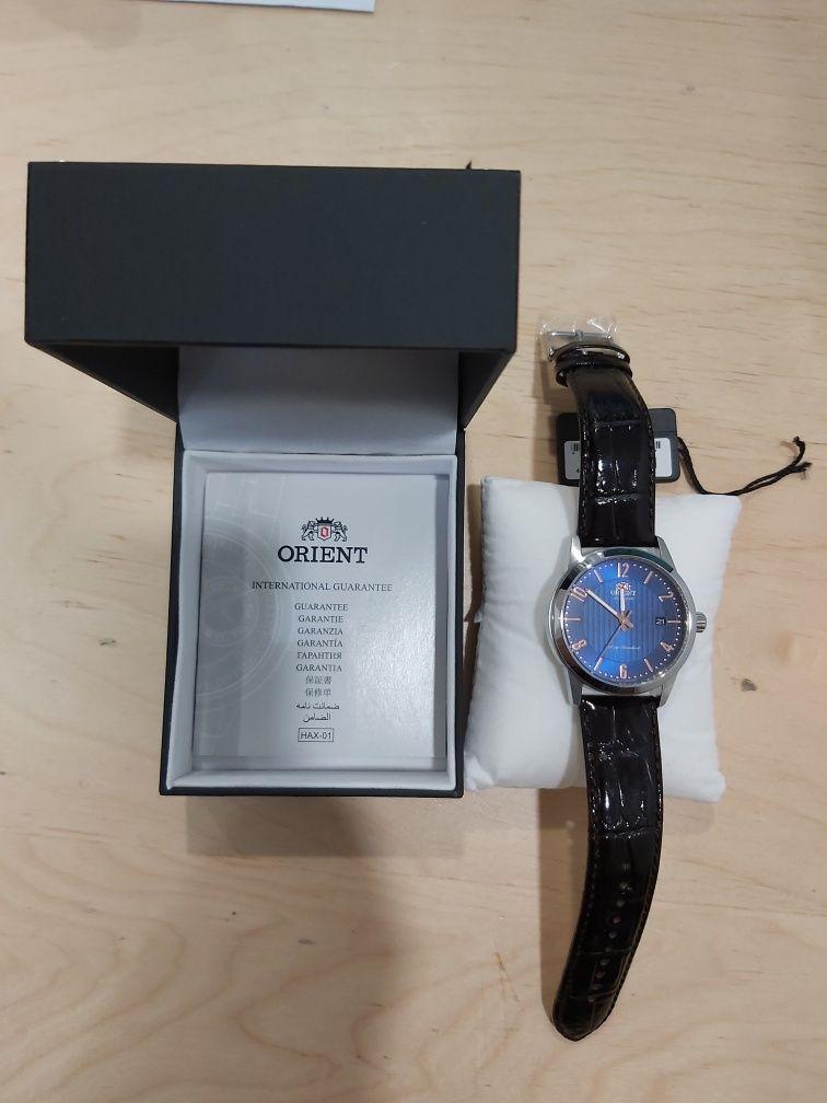 Продавам Нов часовник Ориент Автоматичен Japan с 2г Международна гаран