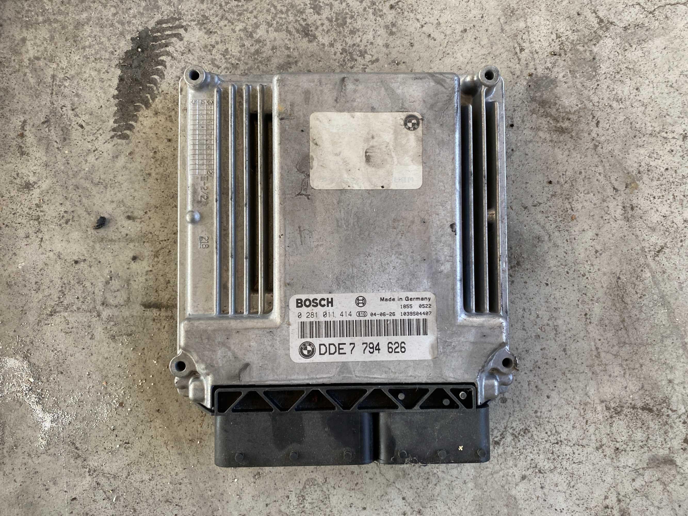Компютър за двигател - /БМВ/BMW/ - /е53 /x5/ - M57- 3.0D - 218кс