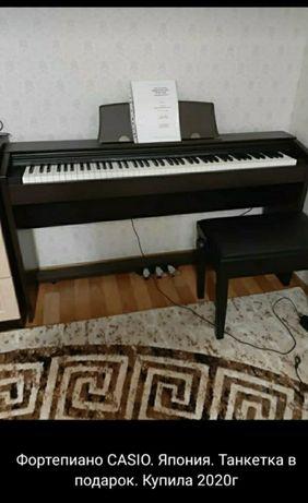 Фортепиано Cassio, Япония. Купили в 2020 году. В отличном состояние.