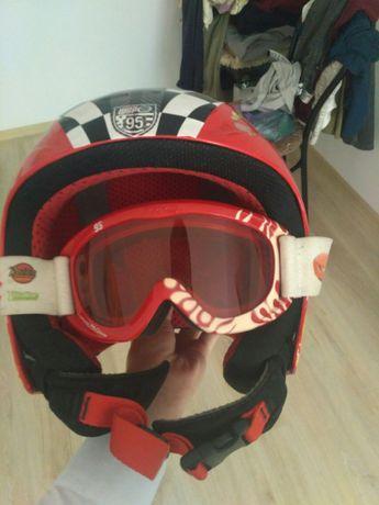 Горнолыжный шлем детский