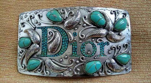 Christian DIOR Belt Buckle Vintage