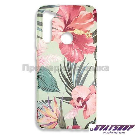 Силиконов гръб за Huawei P40 Lite E -Цветя 0,5мм