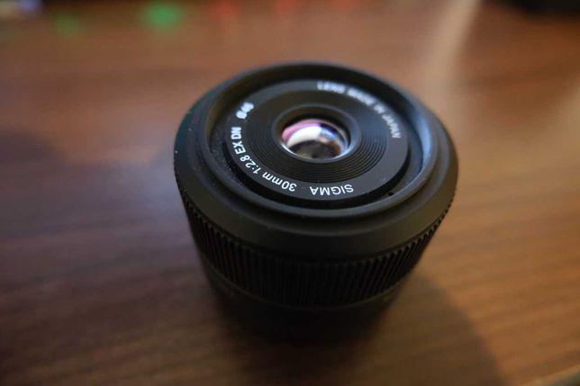 Sigma 30 mm. F2.8 EX DN - E mount pt. sony