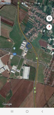 Teren 15500mp Zona Industriala Sud-Zadareni langa Autostrada A1