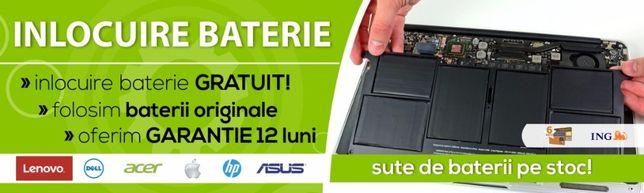 Lichidare STOC - Baterii laptop, ASUS | DELL | HP | LENOVO | MACBOOK