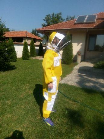 Пчеларски мрежест вентилиран костюм цял