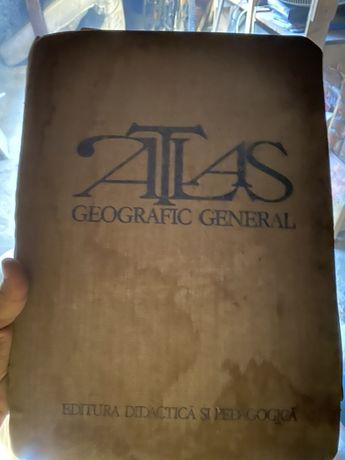 Atlas geografic vechi 1983