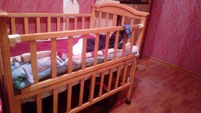 Продам детскую кровать,  Манежка