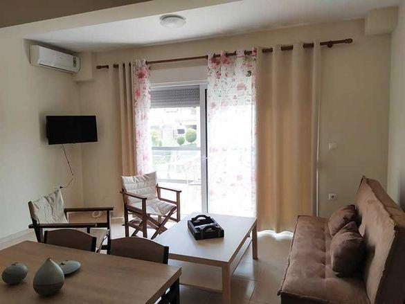 Апартамент с 2 спални на 150м от плажа в Керамоти, Гърция