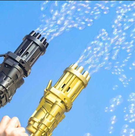 Игрушки пистолет пузырки
