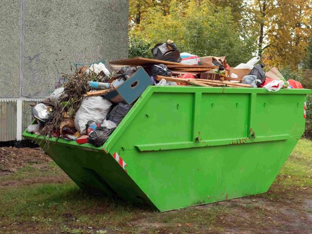 Container bena haba deseuri moloz gunoi