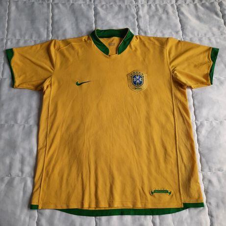 Nike Brazil мъжко жълто трико
