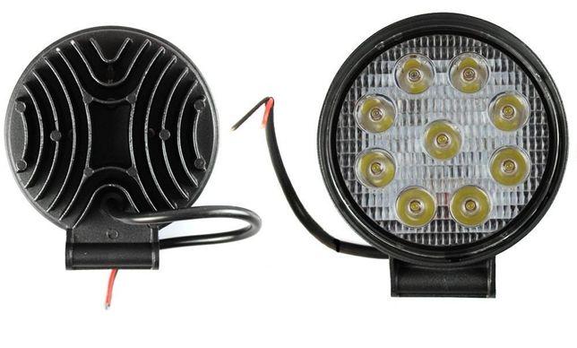 Proiector LED auto offroad 27W 10-30V pentru ATV, 4x4, SUV, Flood Beam