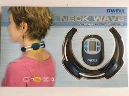 Aparat de masaj pentru gat Neck Wave