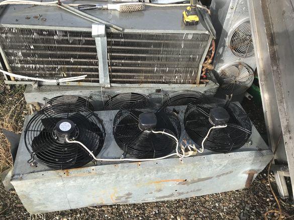 вентилатори от хладилни изпарители