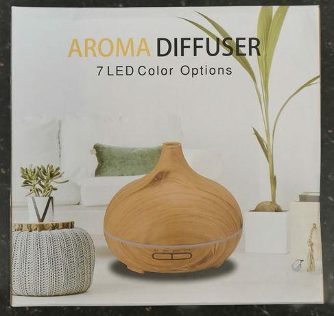 Aromatherapy Diffuser 7 LED-uri schimbătoare de culoare w / telecoman