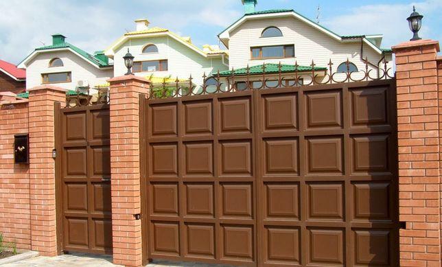 МЫ ДЕЛАЕМ: Ворота, Заборы, Навесы, будки охранника, перила любой сложн