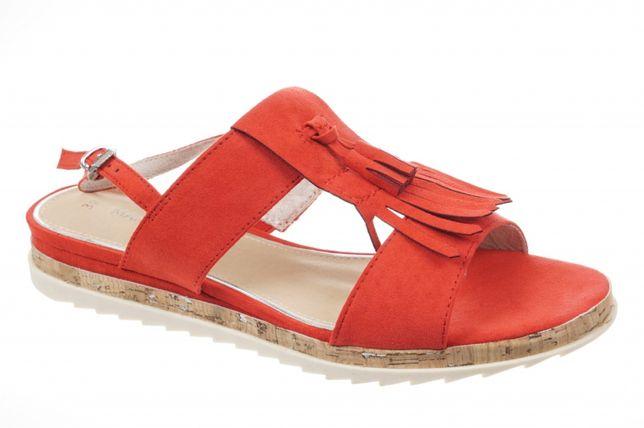 Итальянская обувь Marco Tozzi босоножки!