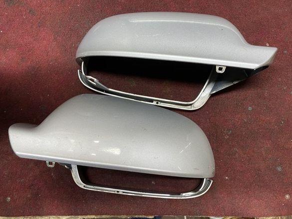 Капаци за огледала сиви оригинални Ауди А5 А4 след 2010г 8f0857528
