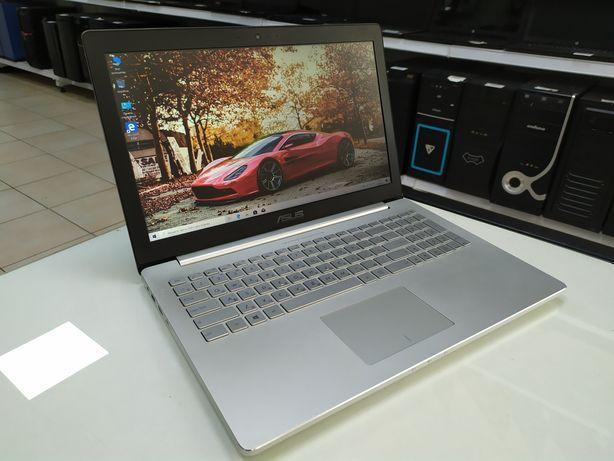 Ноутбук Asus Zenbook UX501V- Core i7-6700HQ/8Gb/SSD 512Gb/GTX 960M