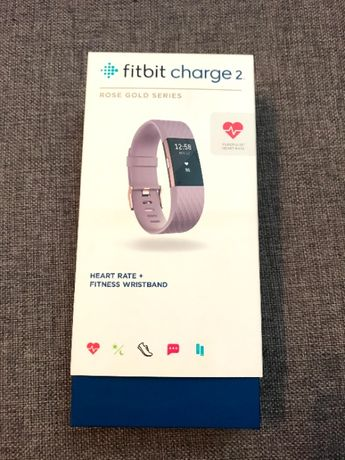 Bratara fitness Fitbit Charge 2 Rose Gold Series